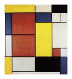 Composition II, 1920 Giclée premium par Piet Mondrian