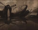 Vintage Propeller Giclée par Retro Classics