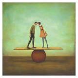 Finding Equilibrium Reproduction d'art par Duy Huynh