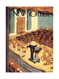 The New Yorker Cover - October 6  1934