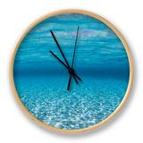Sandy Seabed Underwater View, Indo-Pacific Horloge par Jurgen Freund