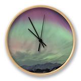 Aurora Borealis  Wrangell Mountains  Alaska  USA
