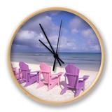 Beach Chairs and Ocean  US Virgin Islands