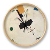 Suprematist Composition No.56, 1916 Horloge par Kasimir Malevich