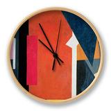 Painterly Architectonics, 1916-17 Horloge par Liubov Sergeevna Popova