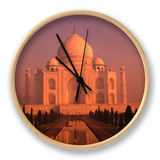 Taj Mahal Glows at Sunrise  Agra  Uttar Pradesh  India