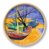 Fishing Boats on the Beach at Saintes-Maries-De-La-Mer