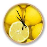 Lemons (Citrus Limon), Eureka Variety Horloge par Wally Eberhart