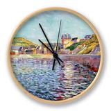 Port-En-Bessin, Calvados, C.1884 Horloge par Paul Signac