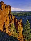 Mt Jefferson Viewed from Badger Creek Wilderness