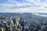 Manhattan Skyline from Above  New York City
