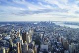 Manhattan Skyline from Above  New York City
