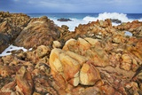 Rocky Coast and Surf at Canal Rocks