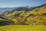 Mountain Impression Villnoess Valley in Autumn