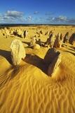 Erosion Landscape Pinnacles