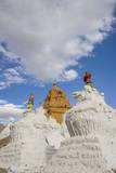 Beautiful Stupa in Downtown