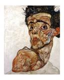 Self Portrait with Bare Shoulder  c1912