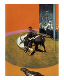 Study for a Bullfight no 1  c1969