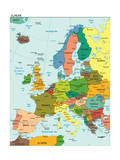 World Earth Europe Continent Country Map