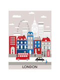 London City. Reproduction d'art par Ladoga