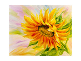 Sunflower  Oil Painting on Canvas