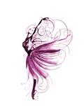 Danseuse de ballet Reproduction d'art par Okalinichenko