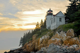Sunset at Bass Harbor Lighthouse  Acadia National Park (Maine)