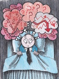 Insomnia of Businessman