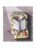 Bedbook Reproduction d'art par Tannene