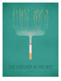 The Cather in the Rye_Minimal Reproduction d'art par Christian Jackson