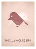 To Kill a Mocking Bird_Minimal Reproduction d'art par Christian Jackson