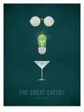 The Great Gatsby Minimal Reproduction d'art par Christian Jackson