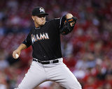Miami Marlins v Cincinnati Reds