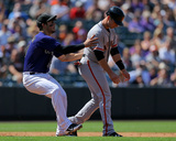 San Francisco Giants v Colorado Rockies - Game One