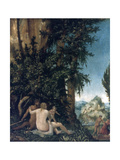 Landscape with Family of Satyrs  1507