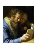 St Matthew and an Angel  1621