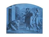 The Hospitalite of Abraham  C1820-1857