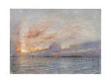 The Lagoons  Venice  1910