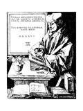 Portrait of Erasmus of Rotterdam  1526