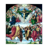 The Adoration of the Trinity (The Landauer Altarpiece), 1511 Giclée par Albrecht Durer