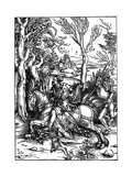 The Knight and the Landsknecht (Soldier Servan)  1497-1498