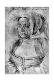 Agnes Durer  1521