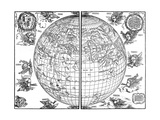 Johannes Stabius Map of the World  1515