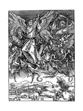 St Michael Battling with the Dragon  1498