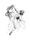 Study for the Triumph of Flora  C1880-1882