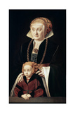 Portrait of a Lady with Daughter  C1530S-C1540S