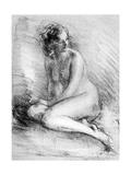 Nude Study  1913