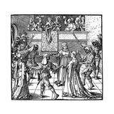 Dance by Torchlight  Augsburg  1516