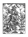 The Vision of the Seven Candlesticks from the 'Apocalypse  1498