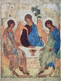 The Trinity of Roublev, C1411 Giclée par Andrey Rublyov